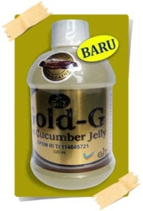 Obat alergi Tradisional herbal alami JELLY GAMAT GOLD-G